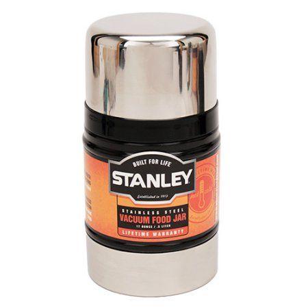 Stanley Classic 17-Ounce Vacuum Food Jar, Hammertone Navy, Blue