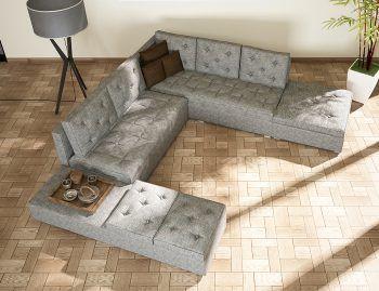 Πολυμορφικός καναπές BELLINA-1 σε σχήμα Π που μπορεί να μετατραπεί πολύ εύκολα σε γωνιακό καναπέ με ανακλύδρο ή σε διθέσιο – τριθέσιο με σκαμπό. Διάσταση: Πλάτη: 310cm, Ανάλινδρο: 270cm, Σκαμπό: 200cm, Βάθος: 90cm.  Ο καναπές διατίθεται και ως γωνία χωρίς το ανάκλινδρο  Σε μεγάλη ποικιλία υφασμάτων. www.tiniakos.gr