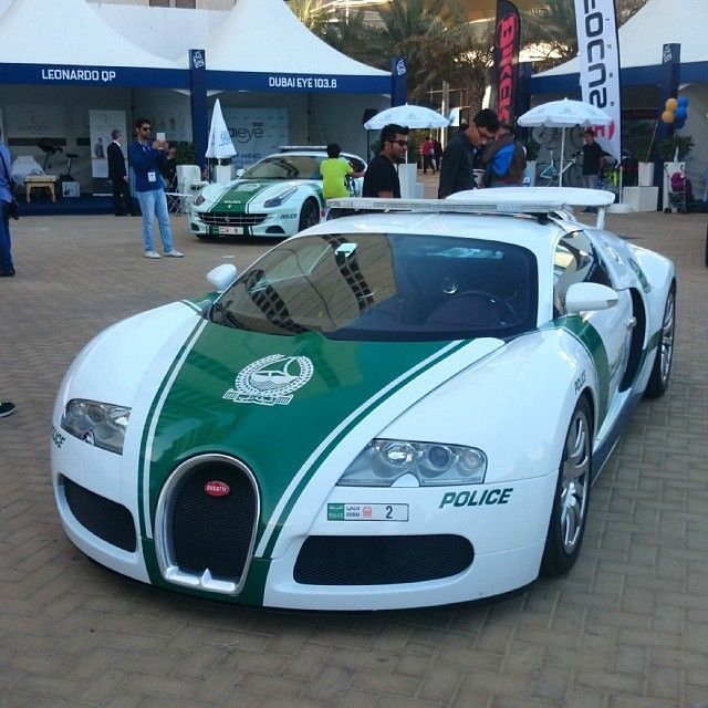 A prime example of why Dubai's police cars are so much more advanced than the UK's.