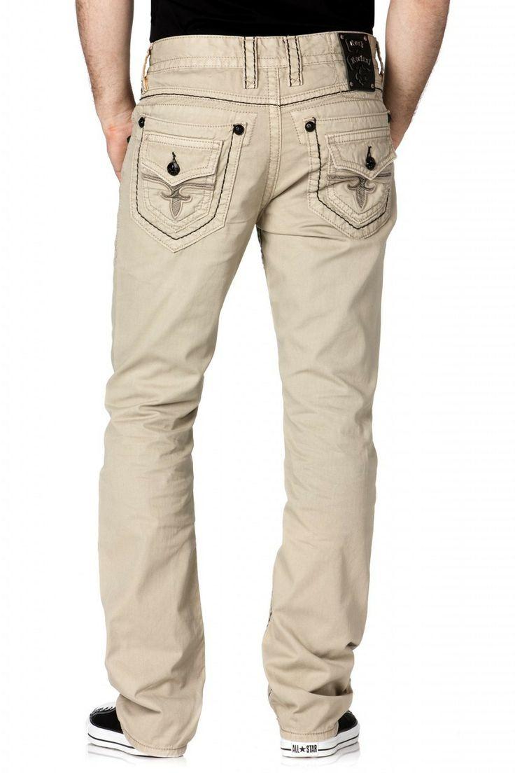 Mens Buckle Jeans Cheap