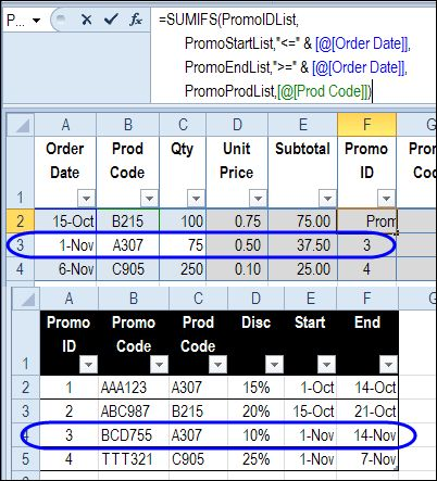 how to find referenced table in excel