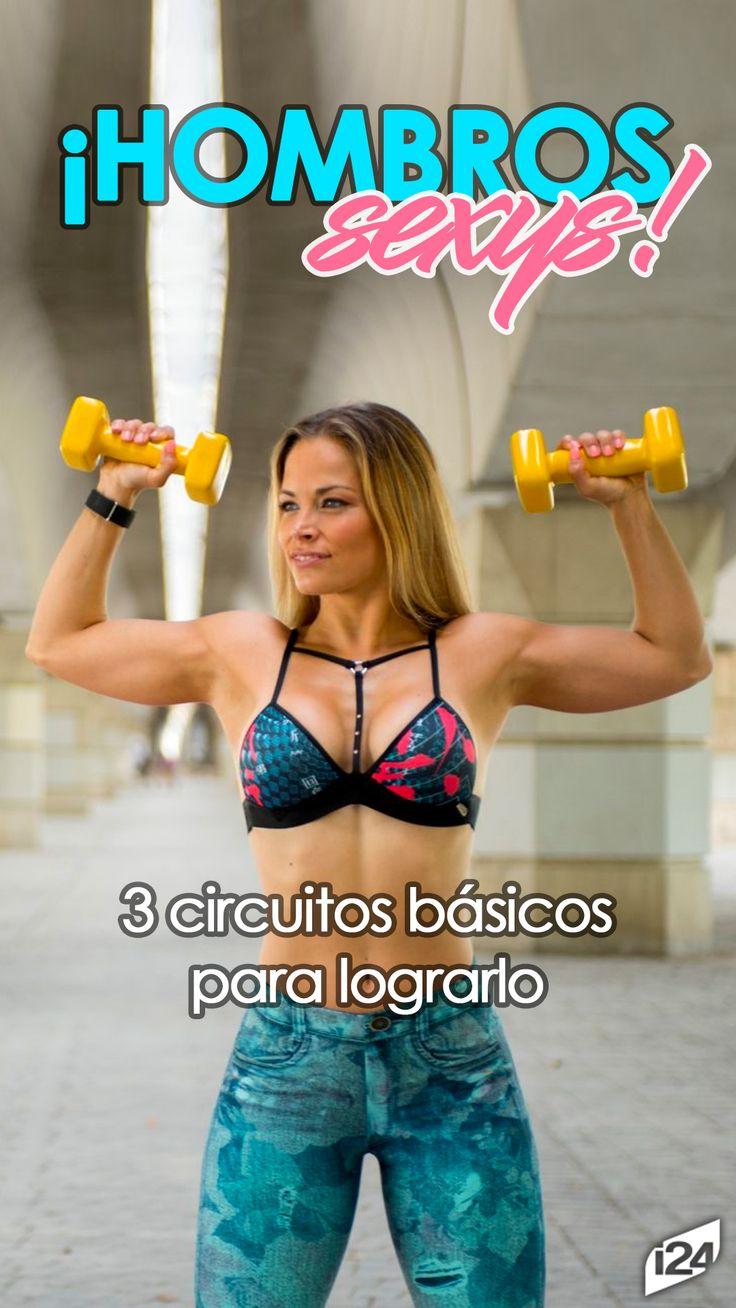 Tonifica tus hombros rápidamente #Ejercicios #Sexy #Cuerpo #Sport #Body