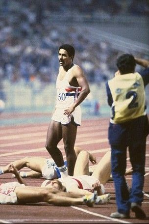 Daley Thompson Cheeky chap v those East European giants