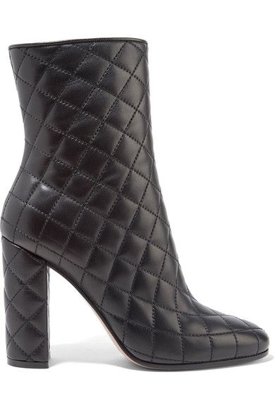 Gianvito Rossi   Quilted leather boots   NET-A-PORTER.COM