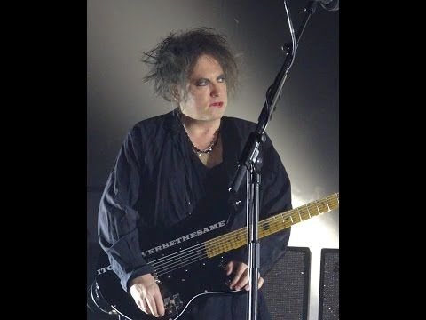 The Cure - Three Imaginary Boys - 2016 Wembley Arena - Robert's Thank You - YouTube