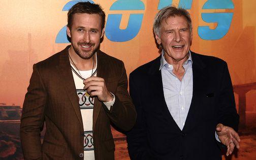 映画『ブレードランナー2049』の主演、ハリソン・フォードとライアン・ゴズリングがベタ褒め合戦