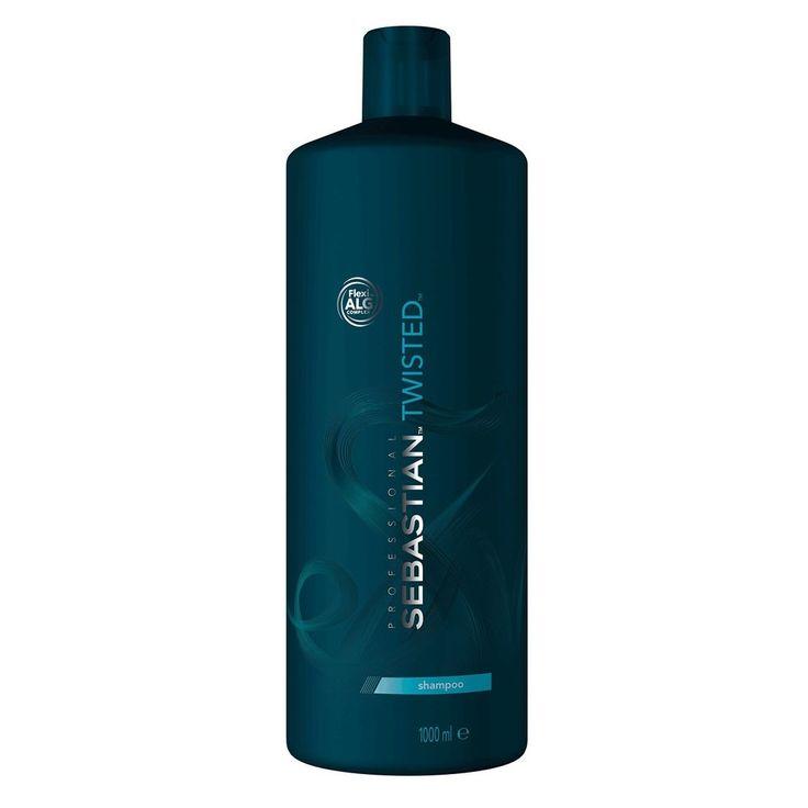 Sebastian Twisted Elastic Cleanser Curl Shampoo 33.8 oz / Liter easier styling