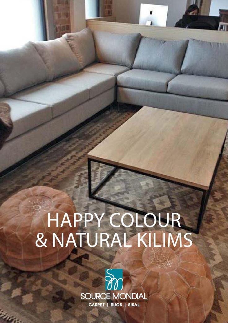 Happy Colours & Natural Kilims