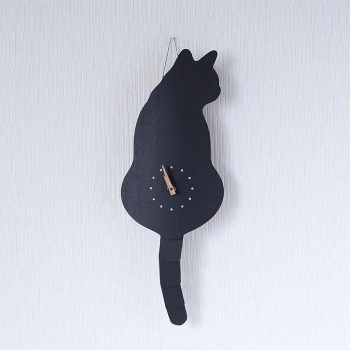 藤井 啓太郎 猫時計 クロ | 京都 たち吉(和食器)オンラインショップ
