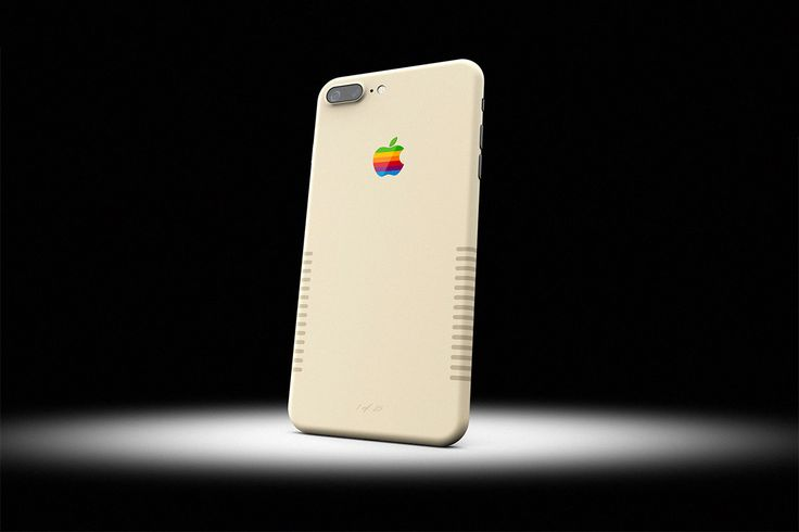 You Can Now Buy an iPhone 7 Plus That Looks Like a Vintage Macintosh