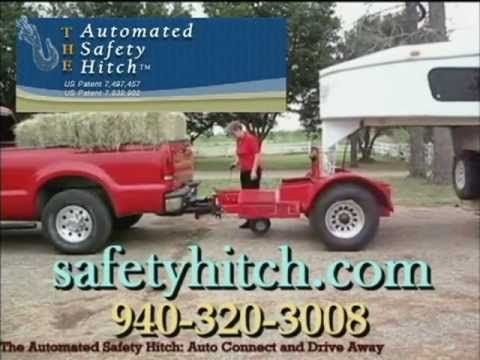 The Automated Safety Hitch | Trailer Hitch | Gooseneck Horse Trailers | 5th Wheel RVs | Flatbed Goosenecks | Fifth Wheel