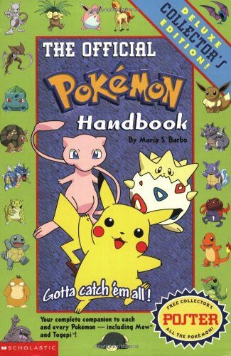 Pokemon: Official Pokemon Handbook: Deluxe Collecters' Edition: Official Pokemon Handbook: Deluxe Collector's Edition