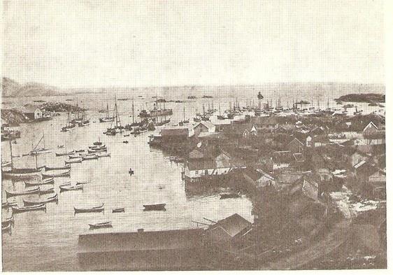 Balstad i Lofoten ca. 1890  http://ballstad.origo.no/ by Gunnar H.