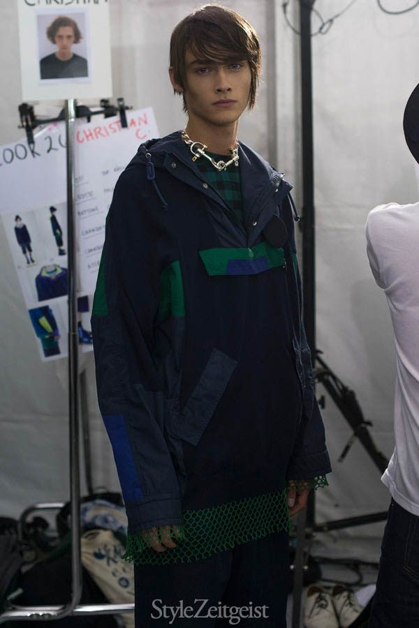 StyleZeitgeist Sacai S/S17 - Backstage Fashion  StyleZeitgeist Spring Summer Sacai PFW Paris Fashion Week Paris Owens MENSWEAR Fashion Chitose Abe 2017
