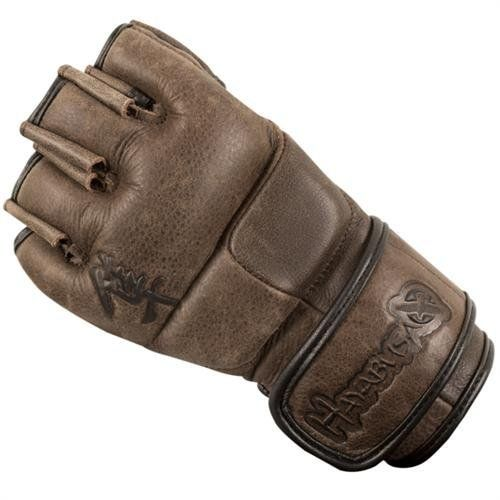 Hayabusa MMA Glove - Kanpeki 2.0 Elite Series Fight Gloves - Brown (L) by Hayabusa. $89.99. The Kanpeki EliteTM Series represents a true unrivaled fusion of old world tradition and new world scientific discovery. Witness the exquisite full grain premium leather that adorns each hand-designed and artisan-crafted element of this elite combat glove. Yet the traditional look and feel is but a veneer for the underlying scientifically conceived and tested design. With patented D...