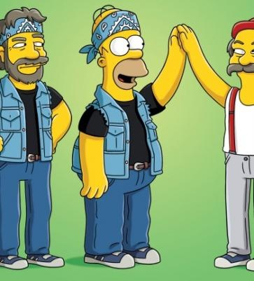 Cheech and Chong | The Simpsons in 2018 | Pinterest | Cheech and chong, The simpsons and Cannabis