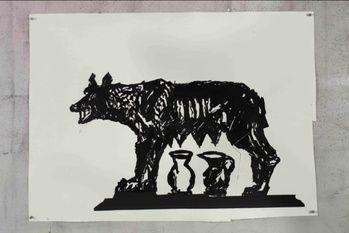 Capitoline Wolf II