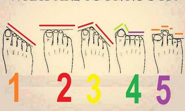 This is What the Length of Your Toes Say About Your Personality