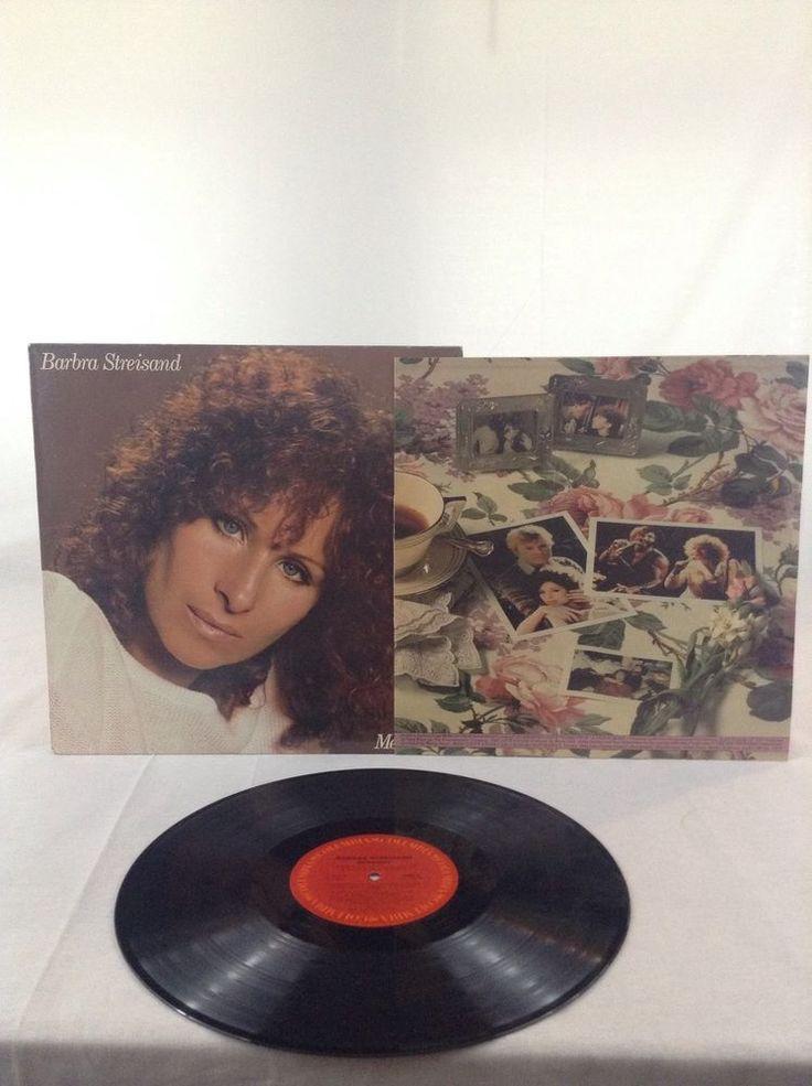 1981 Preowned Barbera Streisand Memories LP Vinyl Record Columbia Records