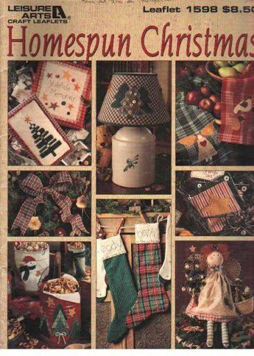 Homespun Christmas (quilt) - Poli patch - Álbumes web de Picasa