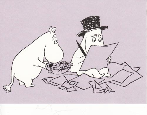 I love the Moomins!