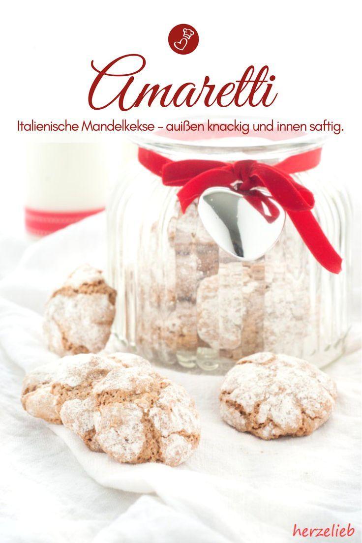 Weihnachtskekse Leicht.Saftige Amaretti Rezept Für Die Leckeren Kekse Mit Mandeln