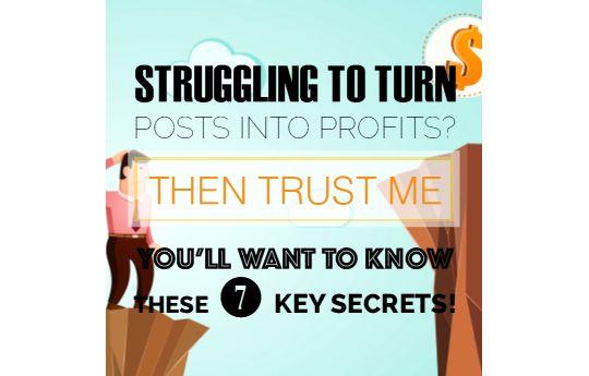 7 Secrets to Making Money Blogging Part 1
