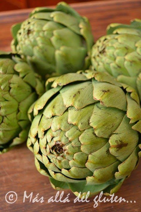 M s all del gluten c mo cocinar alcachofas receta for Cocinar alcachofas