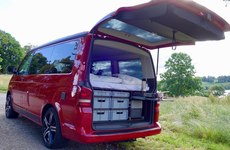 Einbau für VW T5 VW T6 California Beach Bulli Multivan Stecksystem