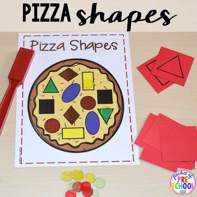 Pizza Centers for Preschool, Pre-K, and Kindergarten - Pocket of Preschool