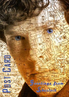 Sherlock Postcard