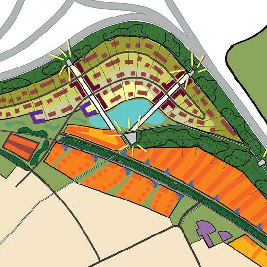 Masterplan voor 450 woningen in Eindhoven, i.s.m. gemeente Eindhoven, Rabo…