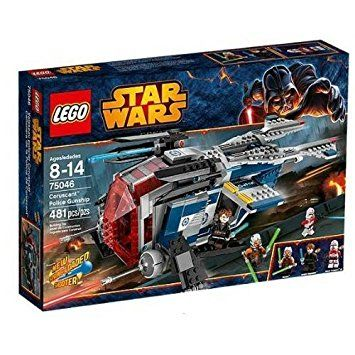 LEGO Star Wars Coruscant Police Gunship Game