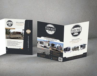"""Check out new work on my @Behance portfolio: """"Chemise à rabat Food Truck…"""