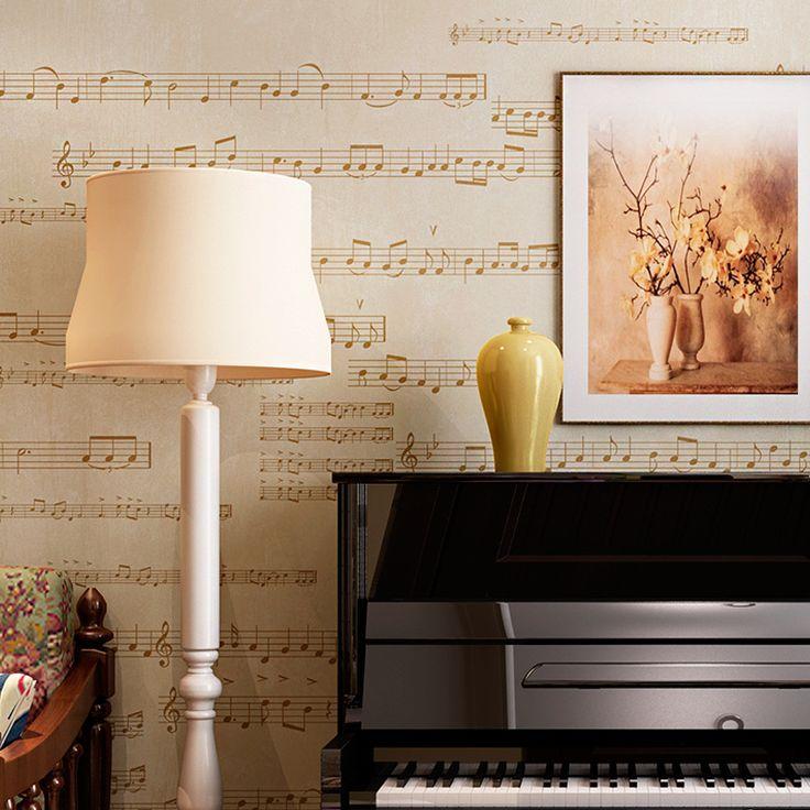 Oltre 1000 idee su carta da parati in tessuto su pinterest - Musica da camera da letto ...