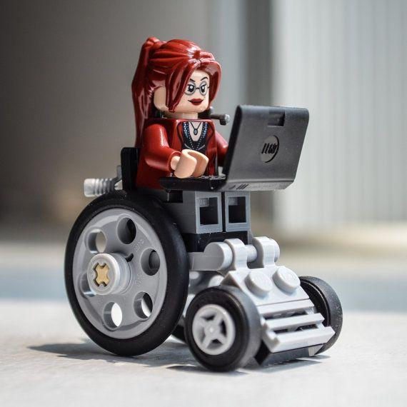 Oracle Barbara Gordon Batgirl Batman ally Custom LEGO by Qunotoys