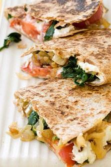 Warning: This amazing healthy quesadilla recipe will make your mouth water.