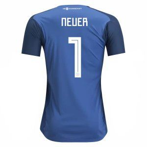 2018 Germany World Cup Neuer Goalkeeper Home Jersey [L730]