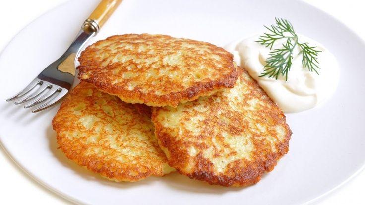 Драники постные / Простые рецепты