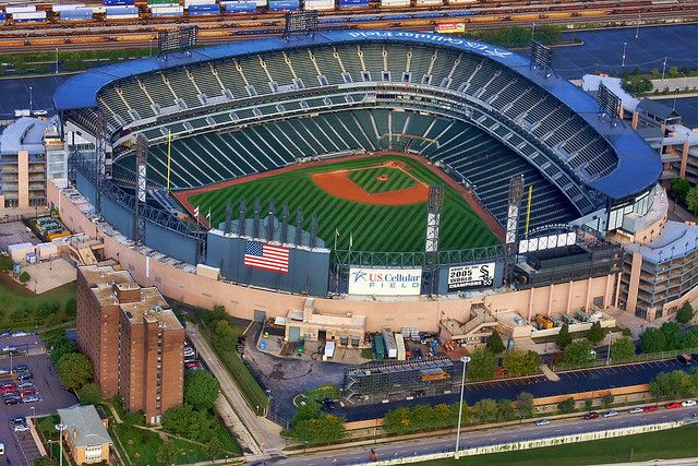 U.S. Cellular Field, Chicago, Illinois - Home of the Chicago White Sox