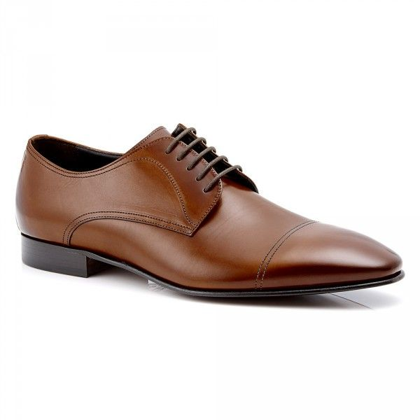 Mens Dress Shoes - Aquila Pritchard Tan - Leather Lace Up