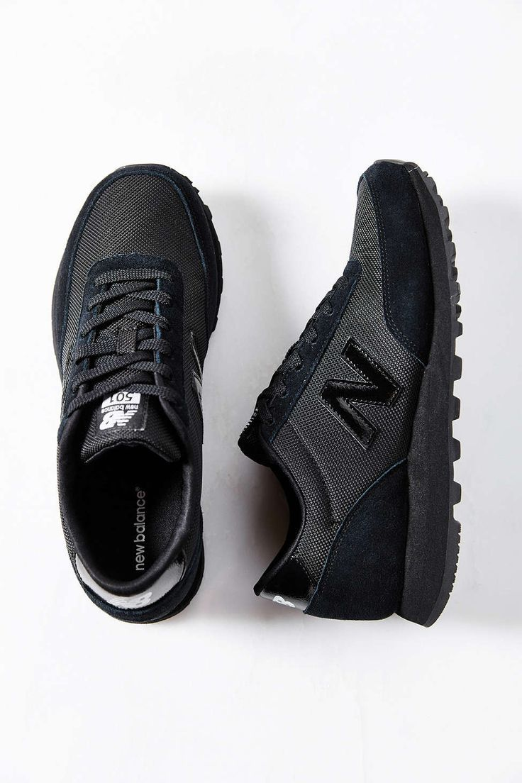black and white new balance 501