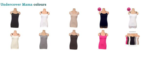 Undercover Mama breastfeeding clothes a regular sale at Baby Best Bargains.
