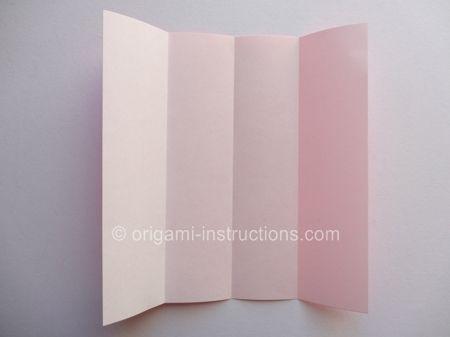 Origami Magie Rose Cube Etape 2