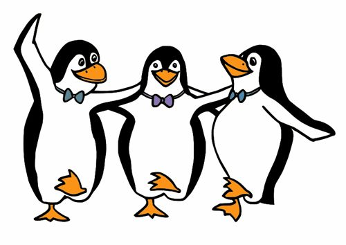 Image result for penguins skiing clipart