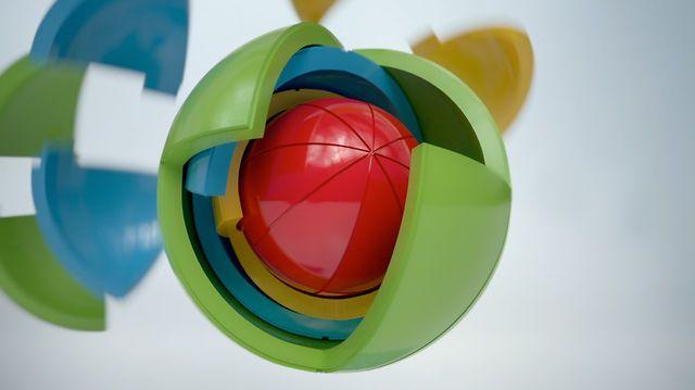 OBLO™ puzzle spheres by Marin Balaic. Product description: