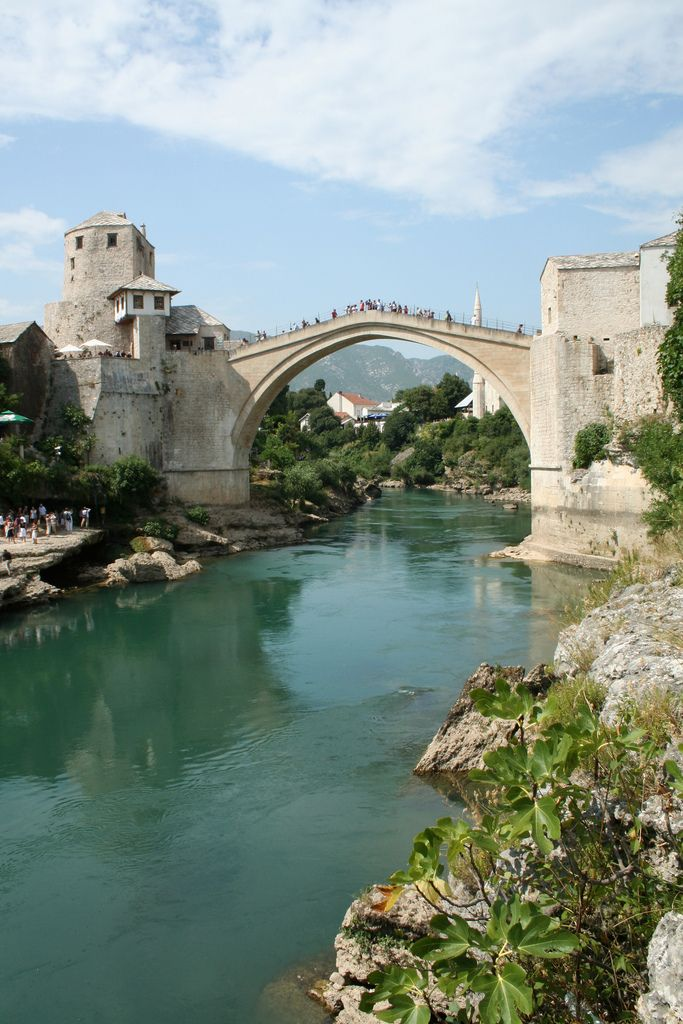The Mostar Old Bridge, Bosnia