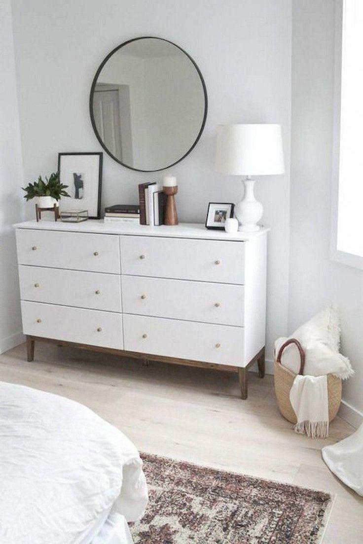 75+ Fantastische minimalistische Schlafzimmer Dekor Ideen #bedroomdecor #bedroomideas #bedroomdeas