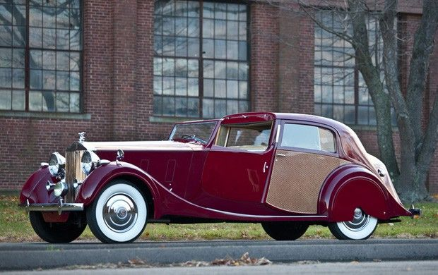 1937 Rolls-Royce Phantom III Sedanca de Ville by Park Ward  Company