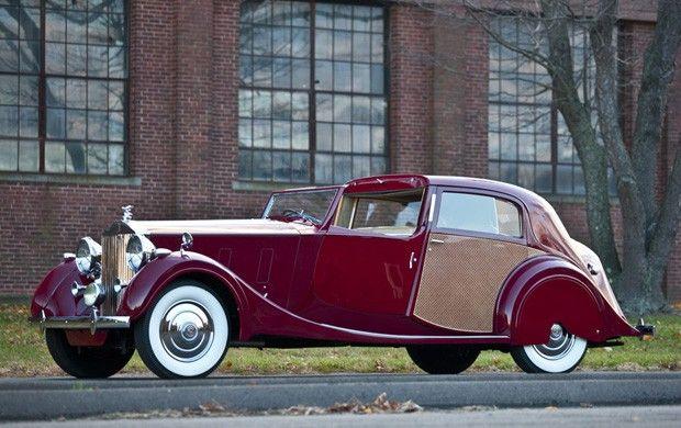 1937 Rolls-Royce Phantom III Sedanca de Ville by Park Ward  Company